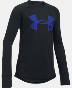Girls' ColdGear® Infrared Knit Long Sleeve  1 Color $39.99