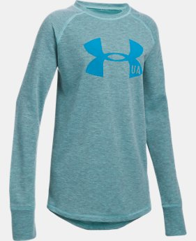 Girls' ColdGear® Infrared Knit Long Sleeve  4 Colors $34.99