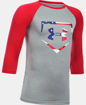 Boys' UA Plate ¾ Sleeve T-Shirt   $29.99