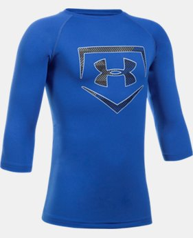 Boys' UA Plate ¾ Sleeve T-Shirt  1  Color Available $24.99