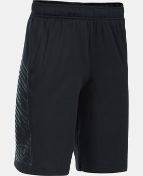 Boys' UA Baseball Training Shorts  1  Color Available $29.99
