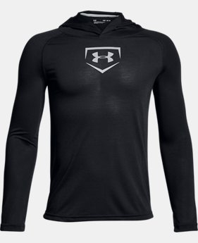 Boys' UA Baseball UA Threadborne™ Hoodie LIMITED TIME OFFER 2 Colors $29.99