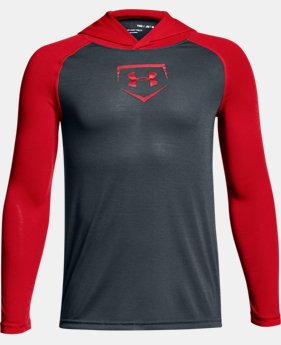 Boys' UA Baseball UA Threadborne™ Hoodie  2  Colors $34.99