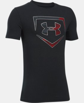 Boys' UA Baseball Logo T-Shirt  1 Color $22.99