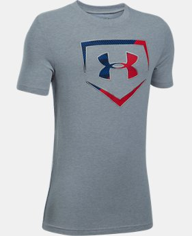 New Arrival Boys' UA Baseball Logo T-Shirt  6 Colors $19.99