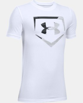 Boys' UA Baseball Logo T-Shirt  2  Colors Available $19.99
