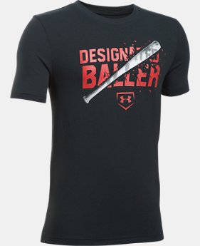 New Arrival Boys' UA Designated Baller T-Shirt  2 Colors $19.99