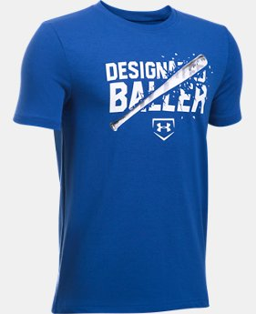Boys' UA Designated Baller T-Shirt LIMITED TIME: FREE U.S. SHIPPING 1  Color Available $19.99