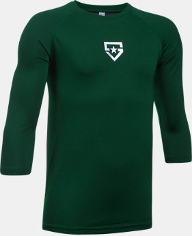 New Arrival  Boys' UA Heater ¾ Sleeve T-Shirt  1 Color $34.99