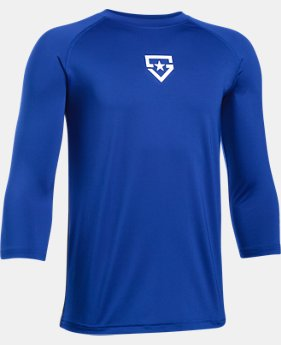 Boys' UA Heater ¾ Sleeve T-Shirt  2 Colors $29.99