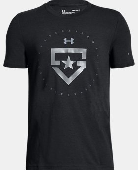 Boys' UA Heater T-Shirt  1 Color $19.99