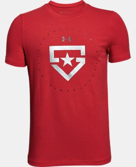 Boys' UA Heater T-Shirt  1  Color Available $19.99