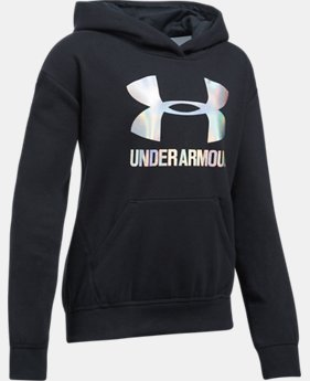 New Arrival Girls' UA Threadborne™ Fleece Hoodie  1 Color $44.99