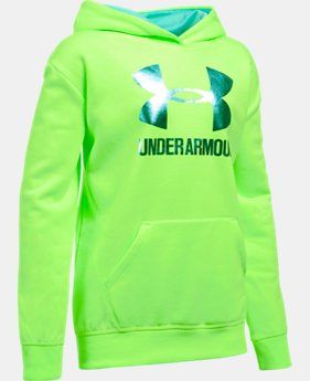 Girls' UA Threadborne™ Fleece Hoodie  1 Color $44.99