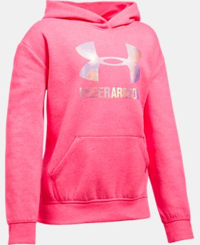 Girls' UA Threadborne™ Fleece Hoodie LIMITED TIME OFFER 2 Colors $31.49
