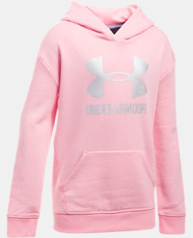 Girls' UA Threadborne™ Fleece Hoodie LIMITED TIME OFFER  $31.49