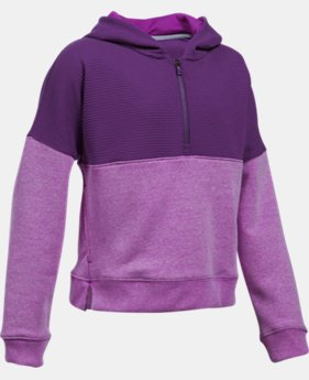 Girls' UA Stretch Fleece Ridge Hoodie  1 Color $32.99