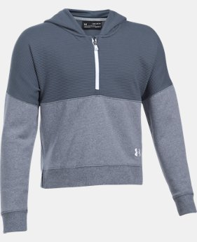 Girls' UA Stretch Fleece Ridge Hoodie LIMITED TIME OFFER 3 Colors $38.49
