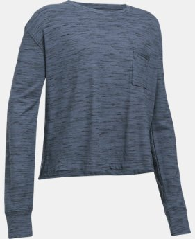 Girls' UA Elevated Training Knit Long Sleeve  1 Color $34.99
