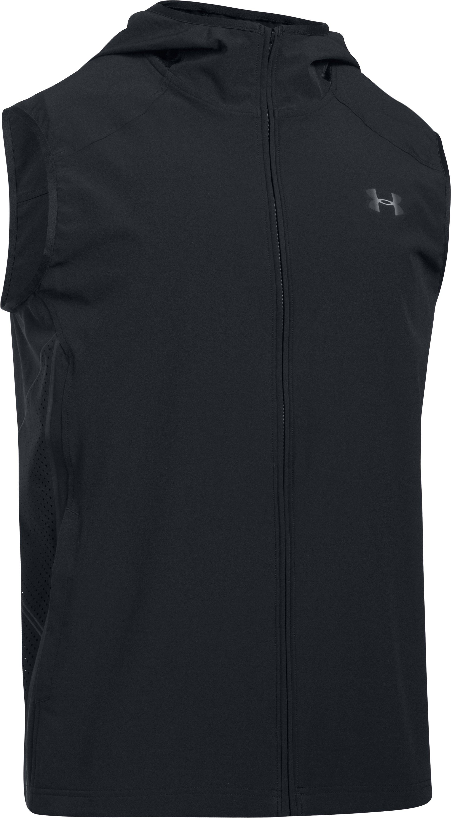 Men's UA Storm Vortex Vest, Black ,