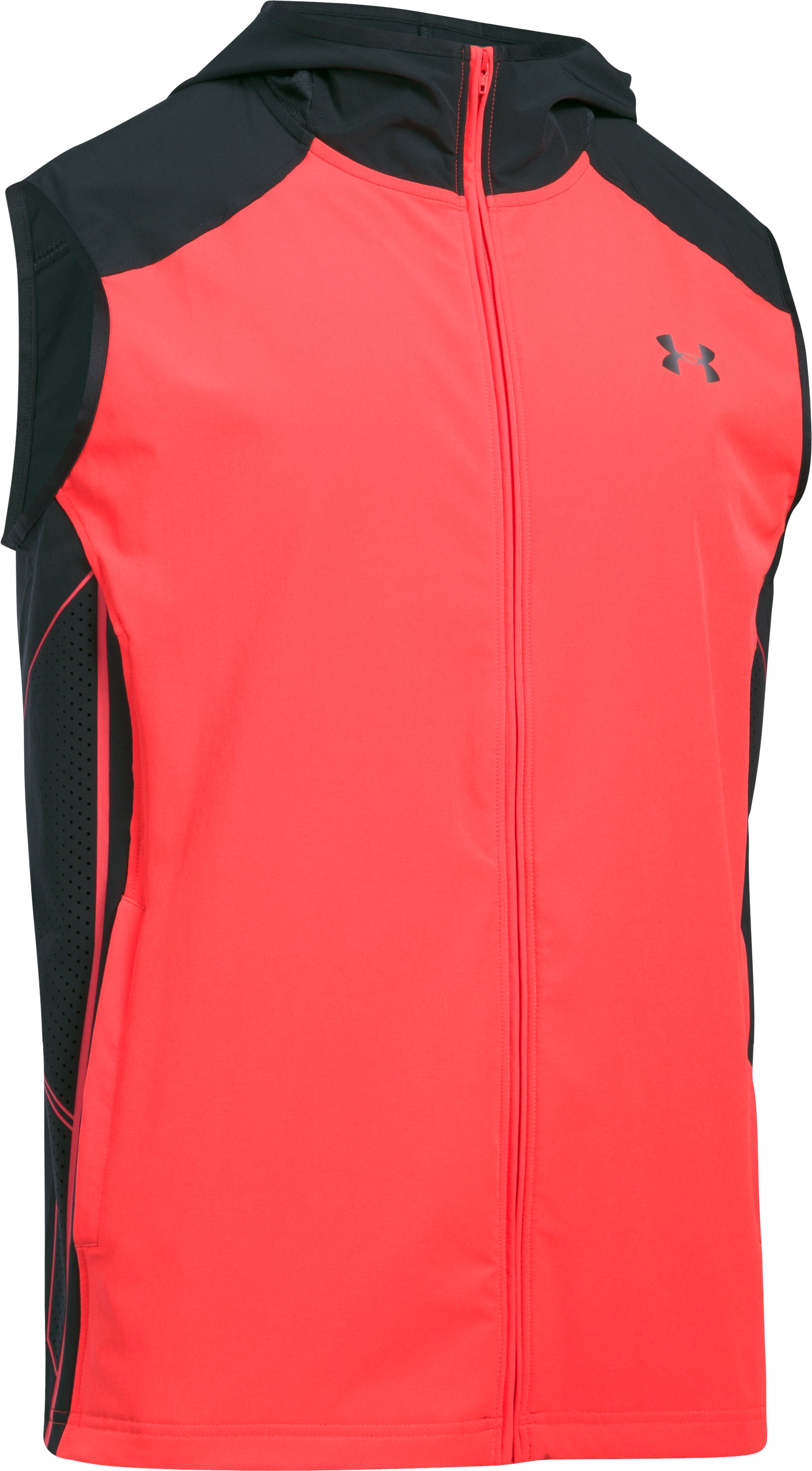 Men's UA Storm Vortex Vest, MARATHON RED,