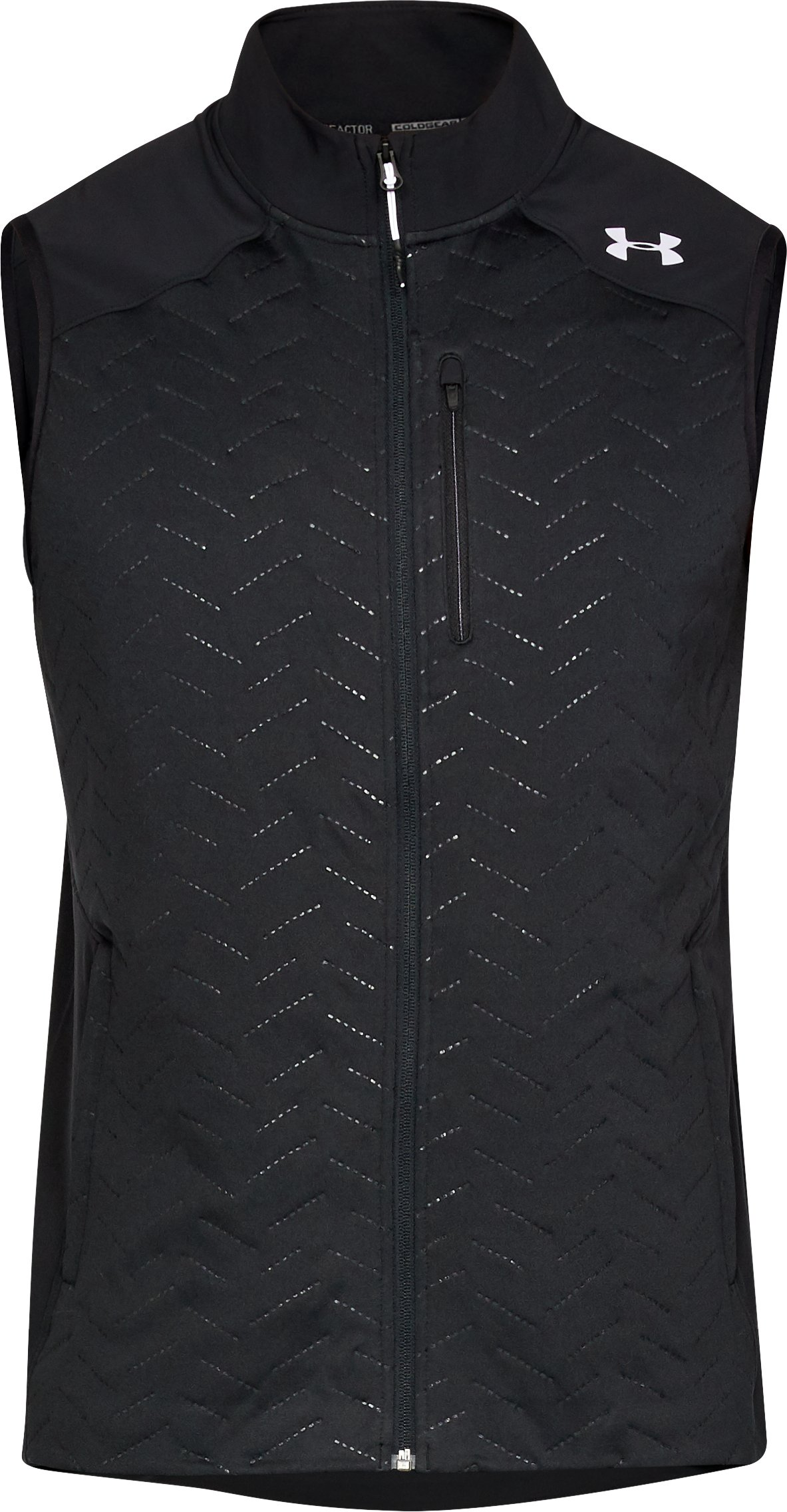 Men's UA ColdGear® Reactor Vest, Black , undefined