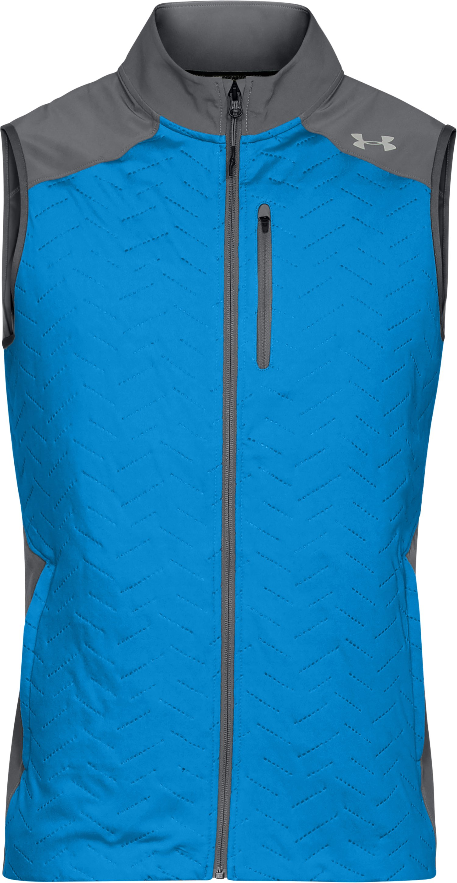 Men's UA ColdGear® Reactor Vest, MAKO BLUE,