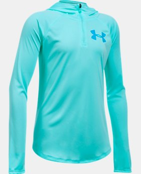Girls' UA Tech™ ¼ Zip Hoodie  4 Colors $34.99
