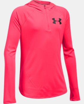 Girls' UA Tech™ ¼ Zip Hoodie  3 Colors $34.99
