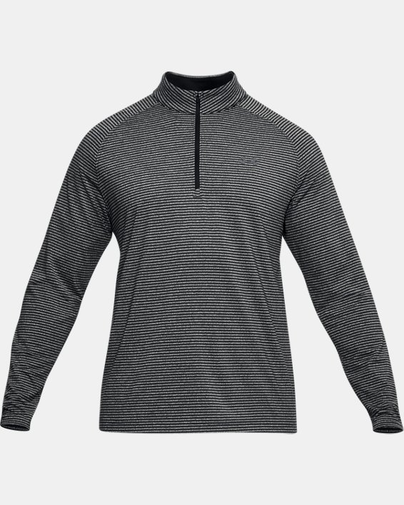 Men's UA Playoff ¼ Zip, Black, pdpMainDesktop image number 4