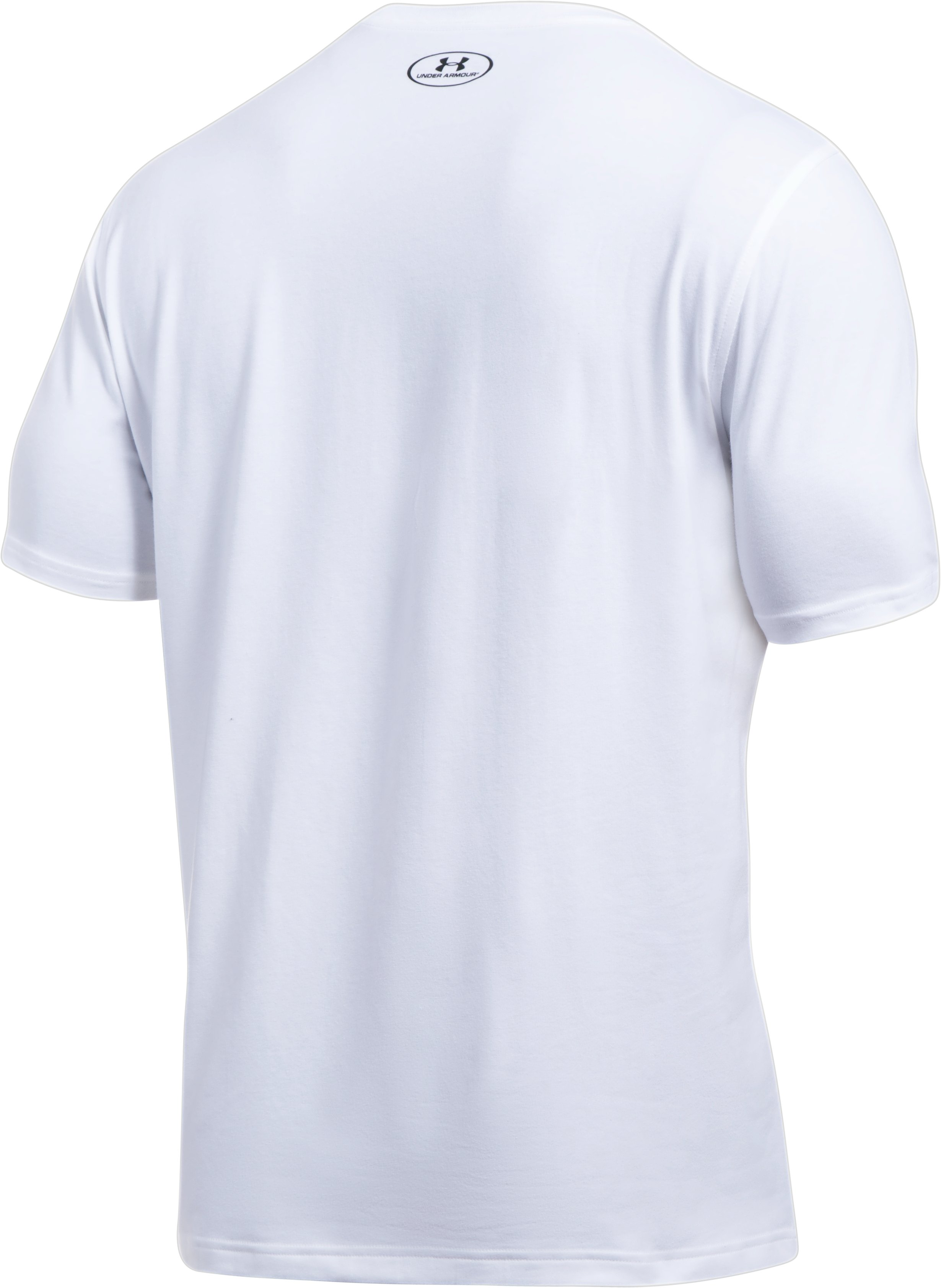 Men's UA x ALI Rumble Jab T-Shirt, White, undefined