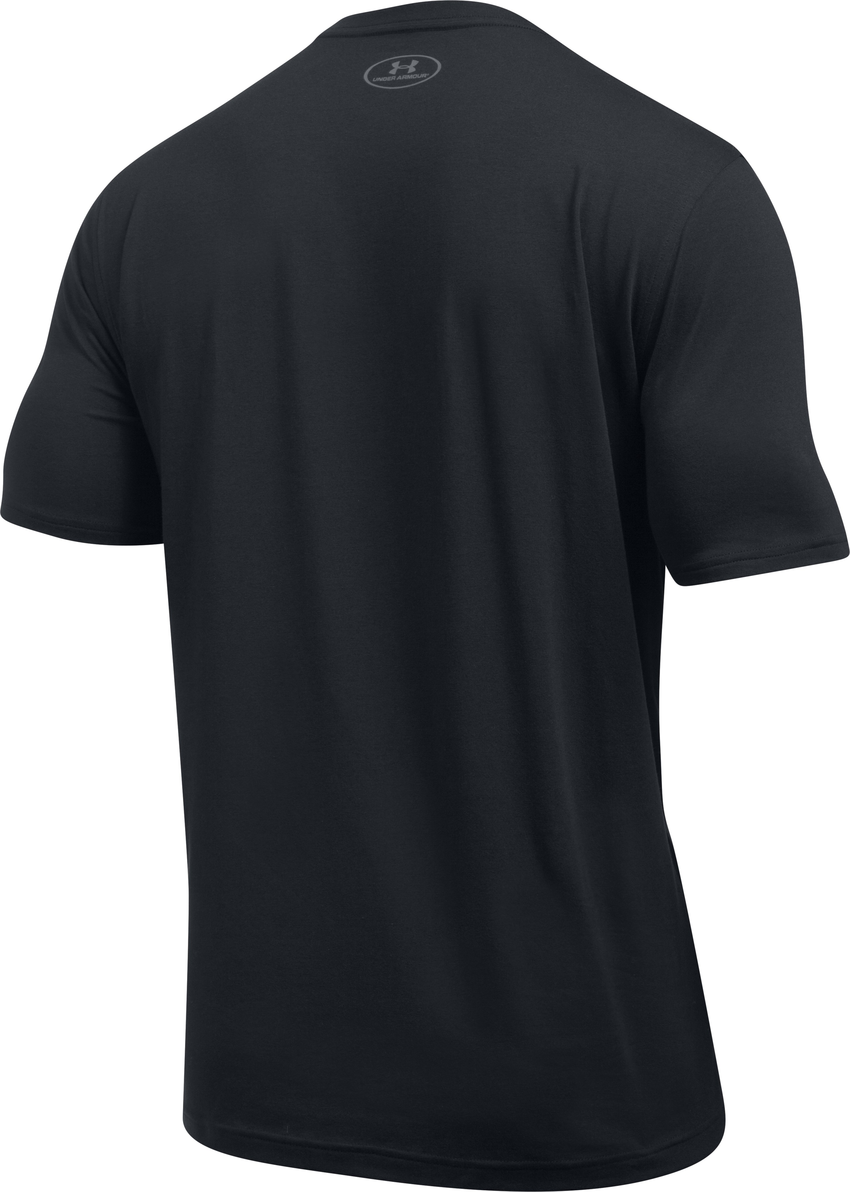 Men's UA x ALI Rumble In The Ring T-Shirt, Black ,