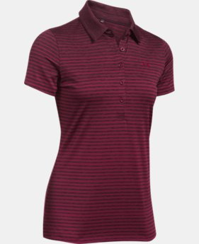 Women's UA Zinger Printed Polo  1 Color $64.99
