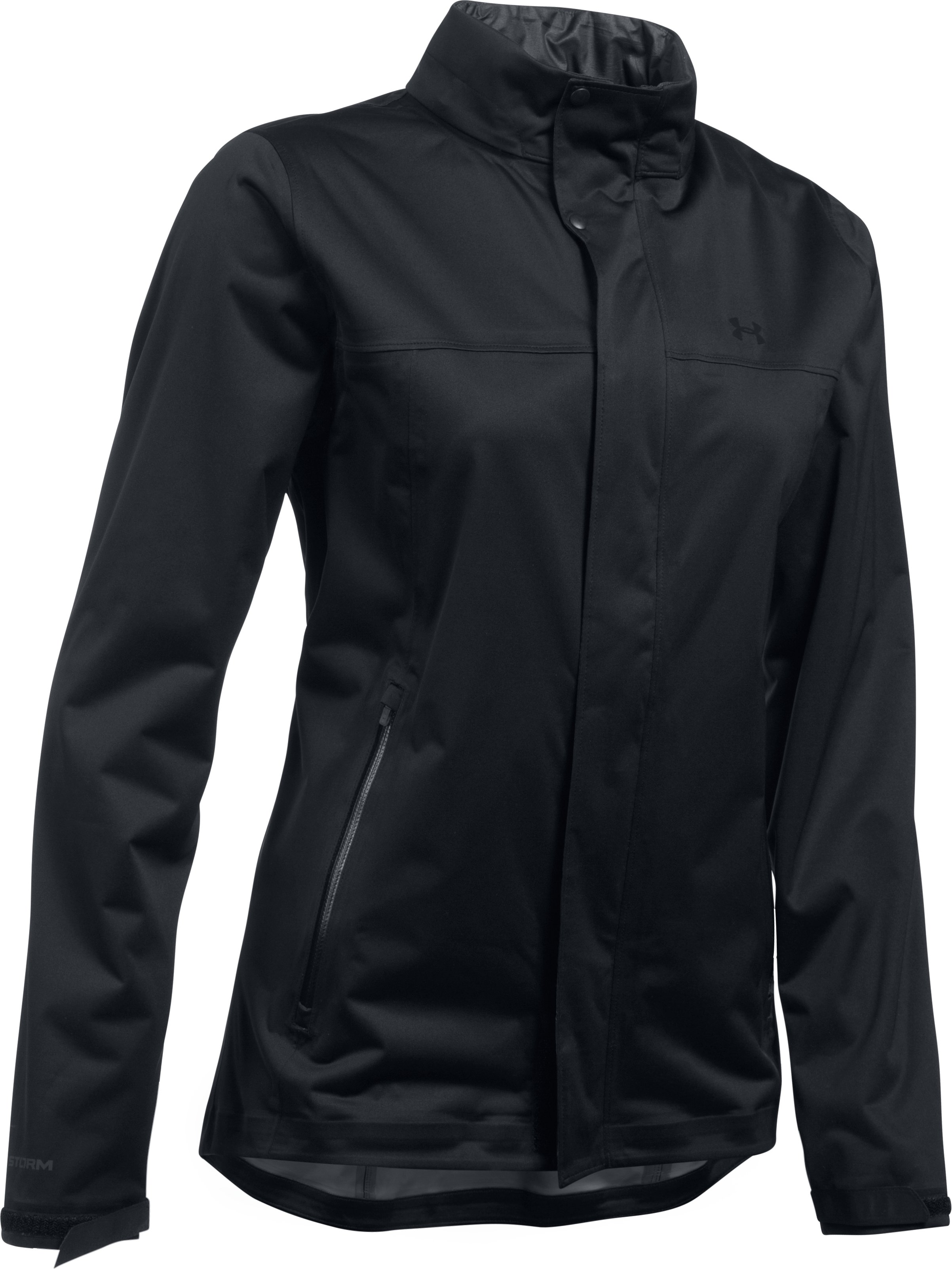 Women's UA Storm Jacket, Black , undefined