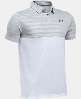 Boys' UA Threadborne Blocked Polo  2 Colors $34.99