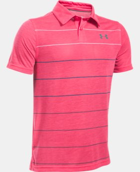 New Arrival  Boys' UA Threadborne™ Pivot Polo  1 Color $44.99