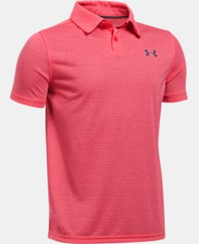 New Arrival  Boys' UA Threadborne™ Feeder Polo  1 Color $44.99