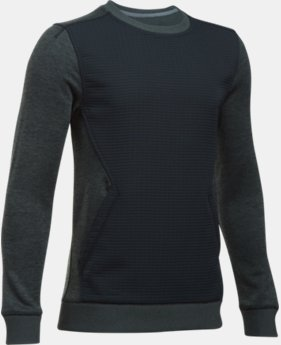 New Arrival  Boys' UA Storm SweaterFleece Kangacrew  1 Color $59.99