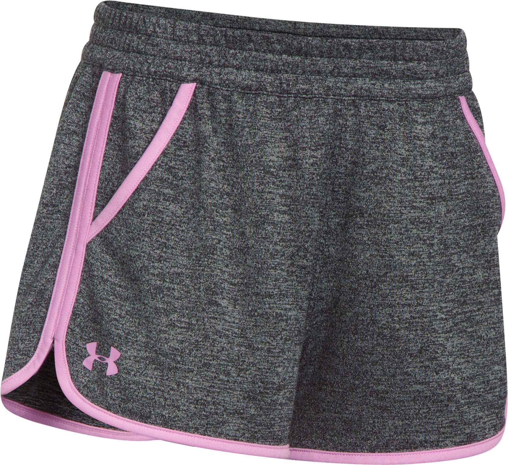 Women's UA Tech™ Twist Shorts, Black , undefined