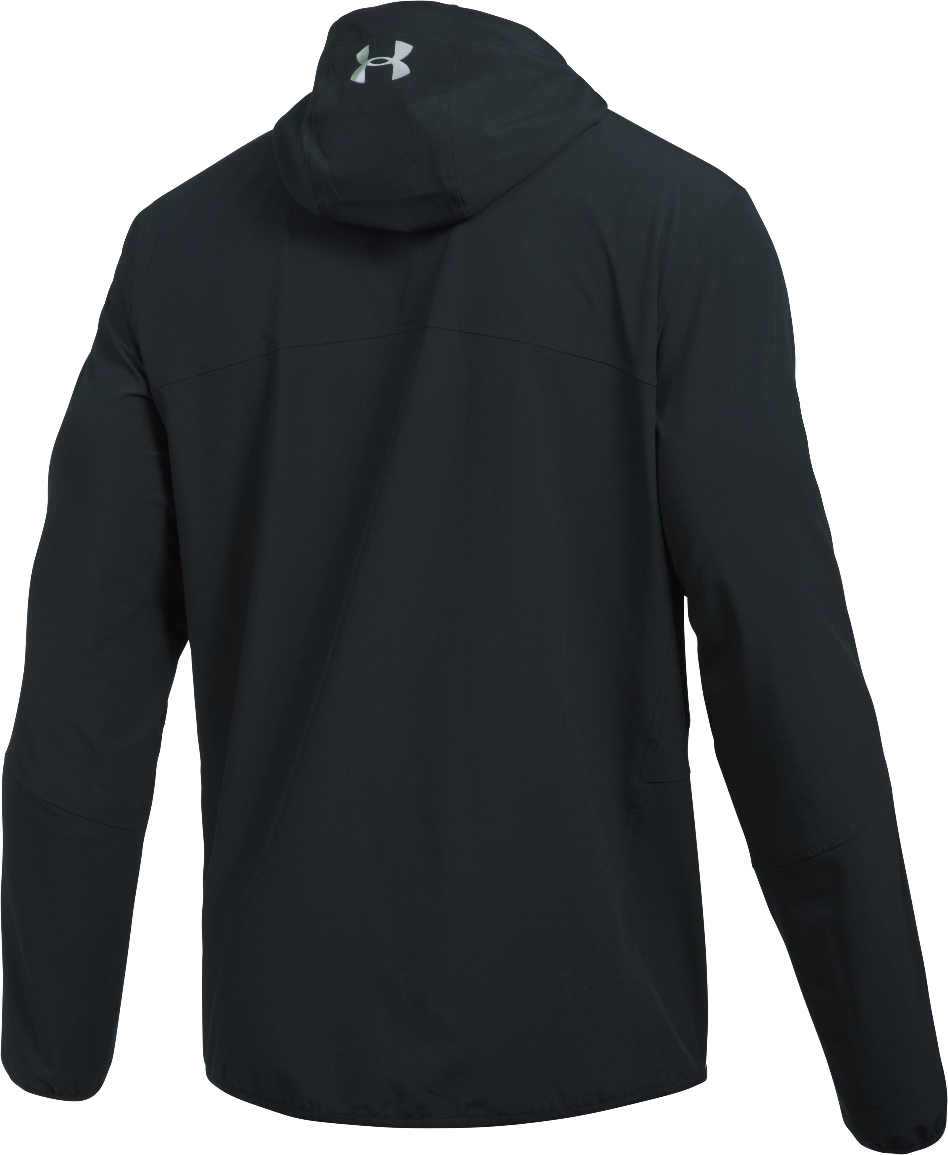 Men's UA Sportstyle Wave Jacket, Black