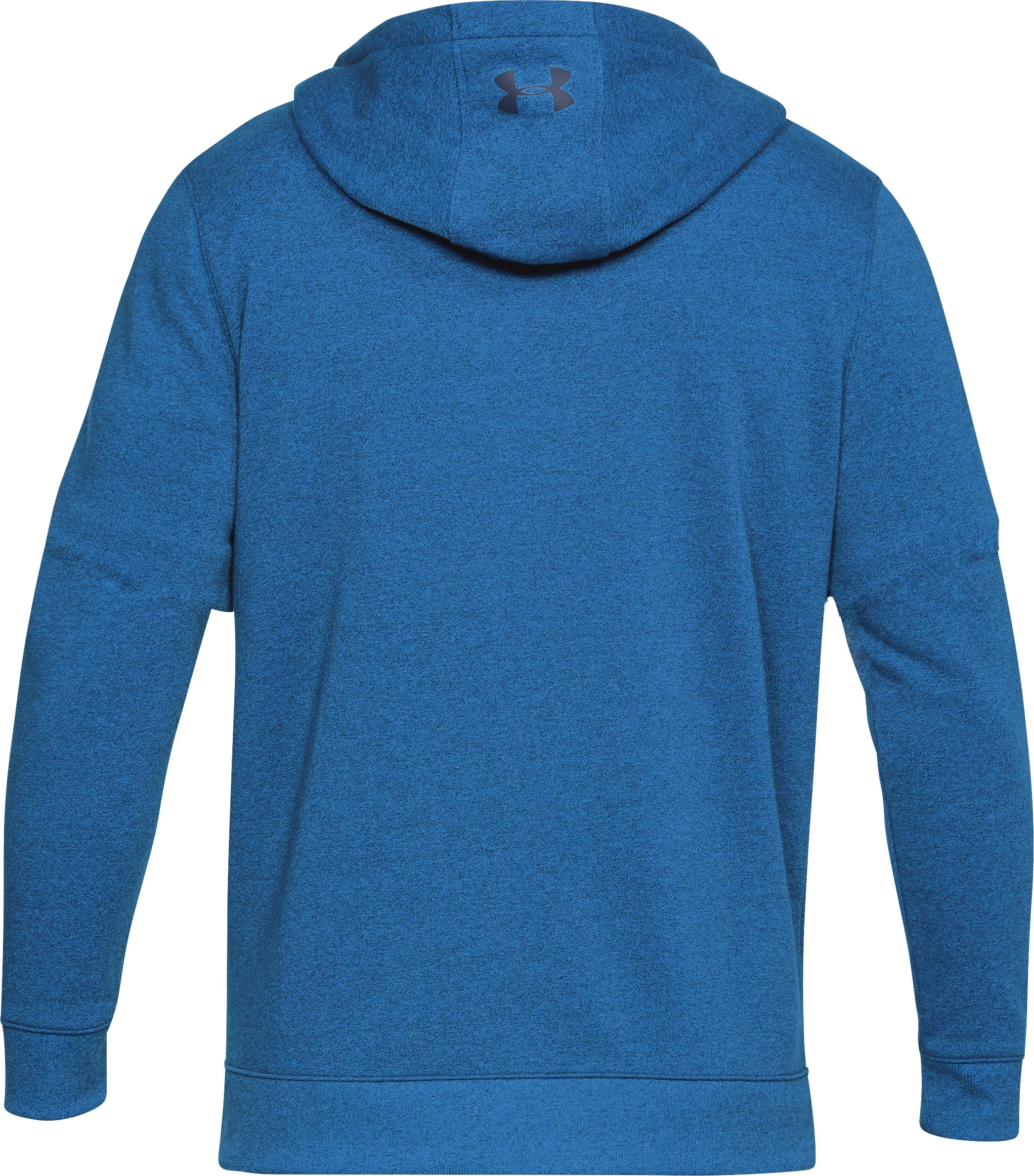 Men's UA Threadborne™ Fleece Full Zip Hoodie, Mediterranean,