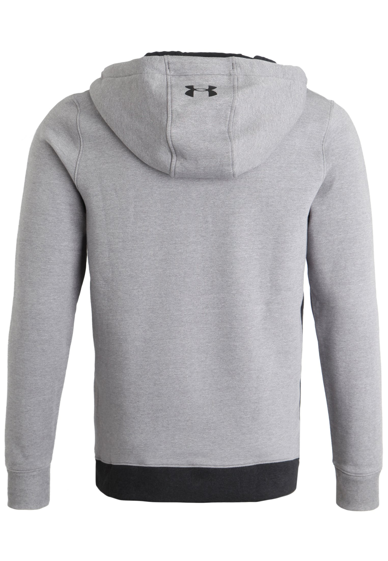 Men's UA Threadborne™ Fleece ½ Zip Hoodie, True Gray Heather