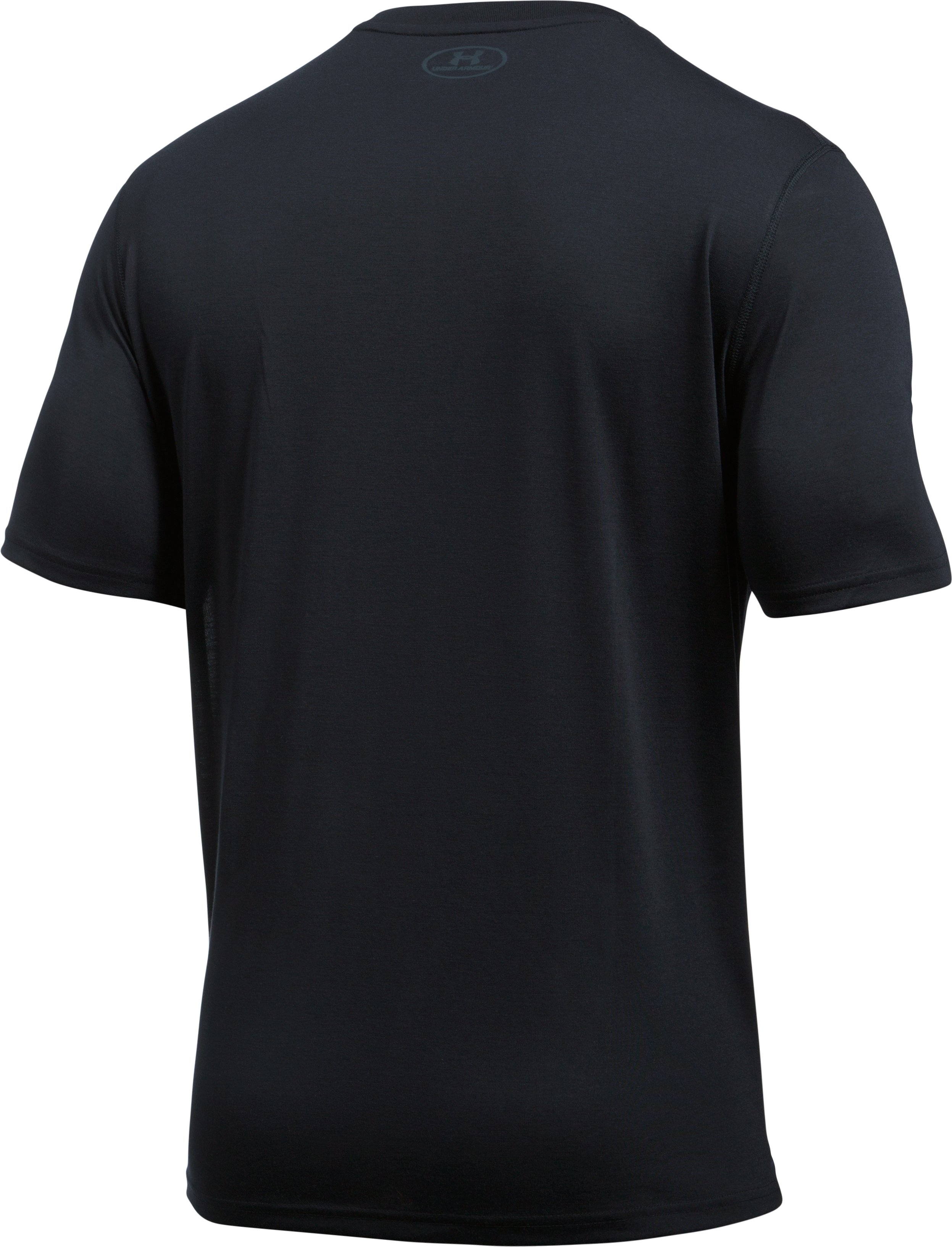 Men's UA Threadborne Target Logo T-Shirt, Black