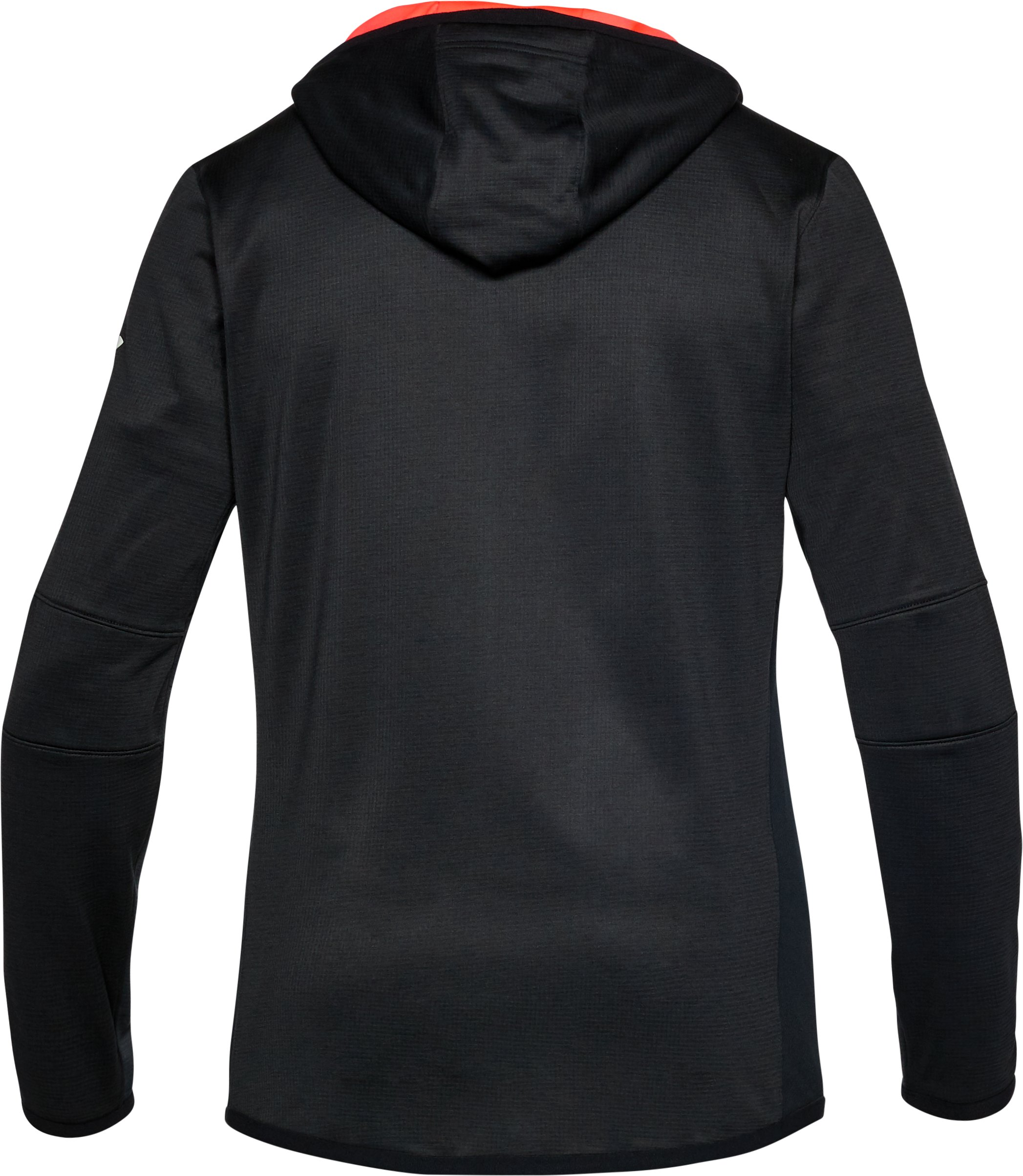 Men's ColdGear® Reactor Fleece Full Zip Hoodie, ANTHRACITE,