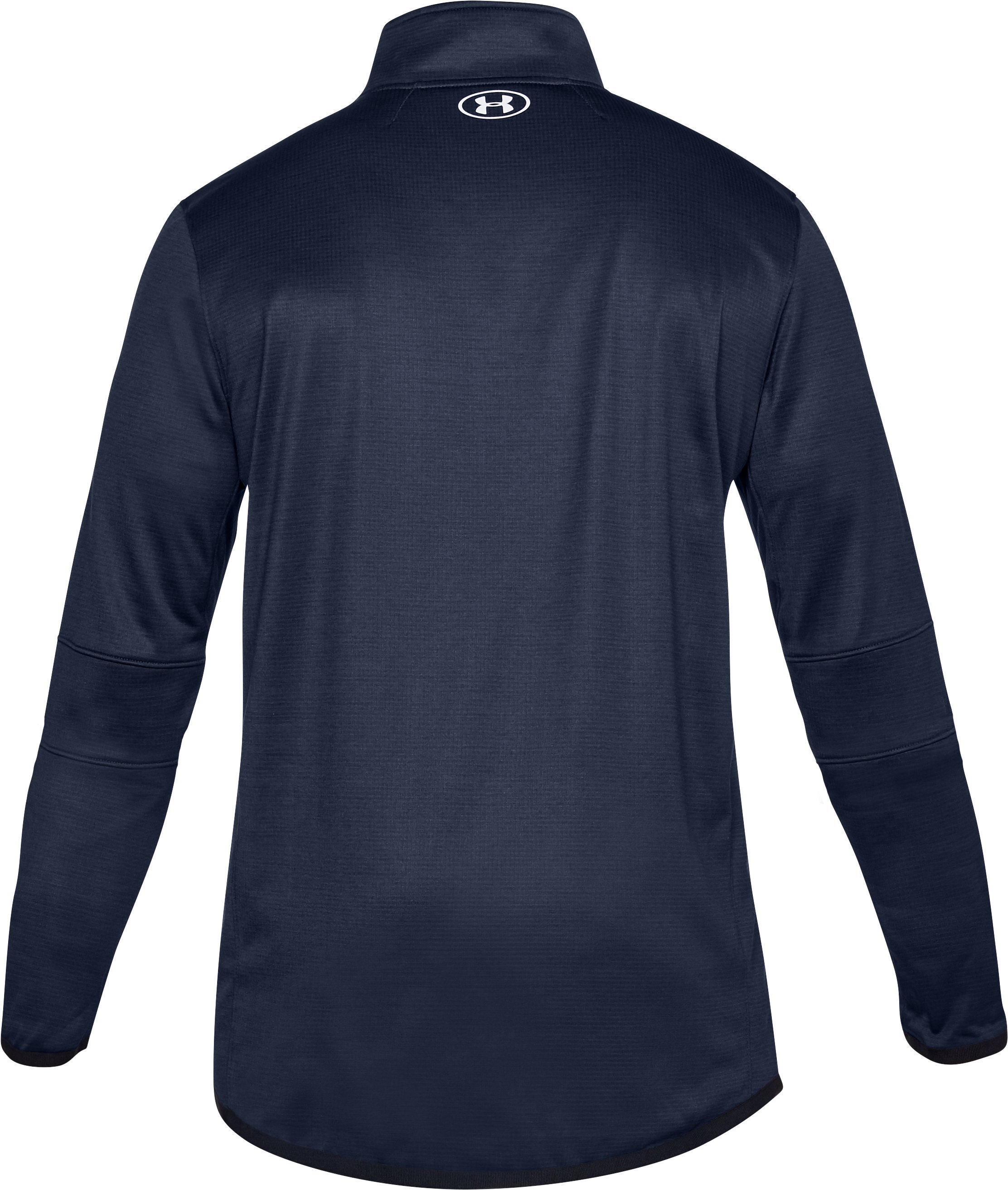 Men's ColdGear® Reactor Fleece ¼ Zip, Midnight Navy,