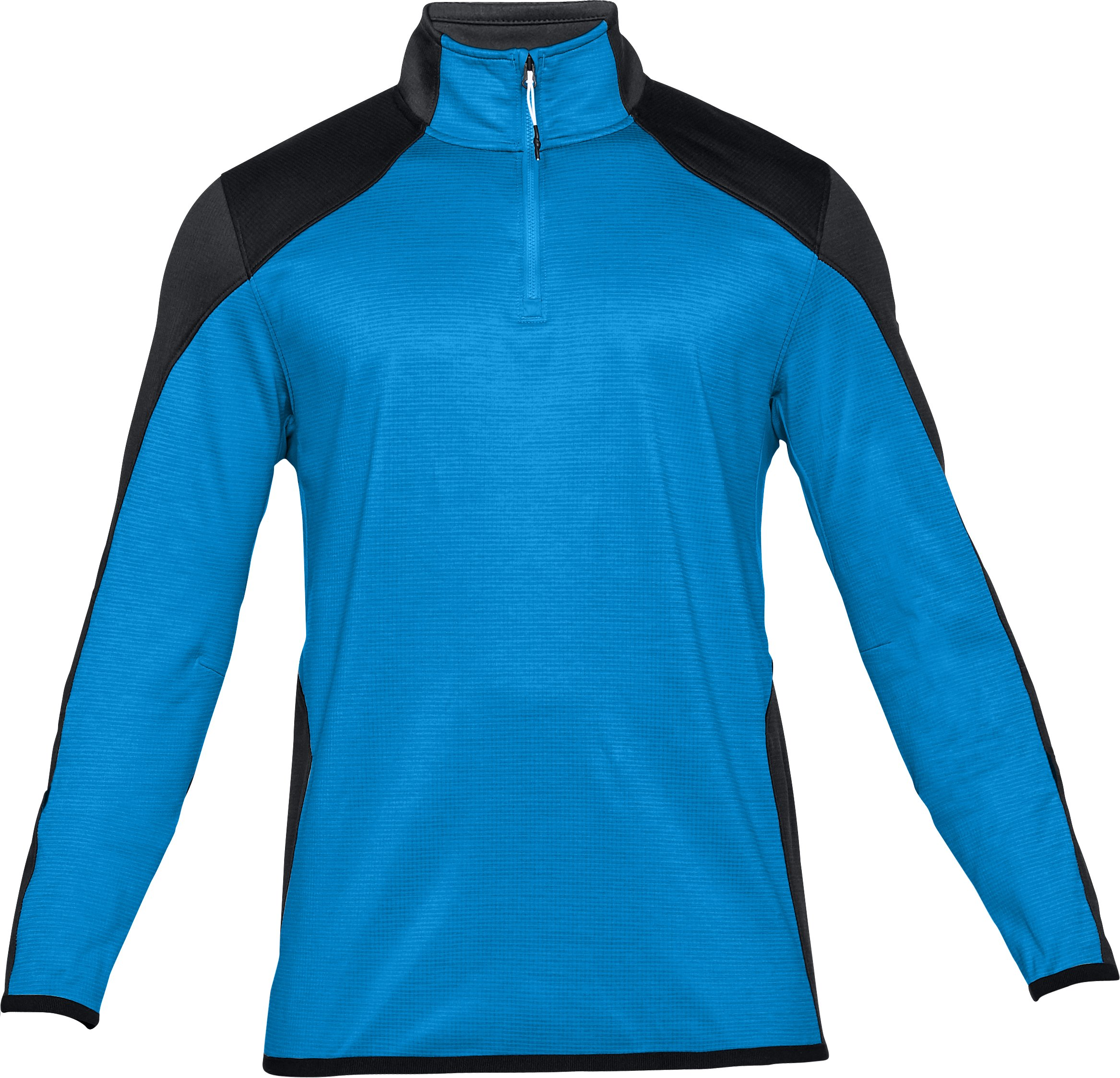 Men's ColdGear® Reactor Fleece ¼ Zip, MAKO BLUE,