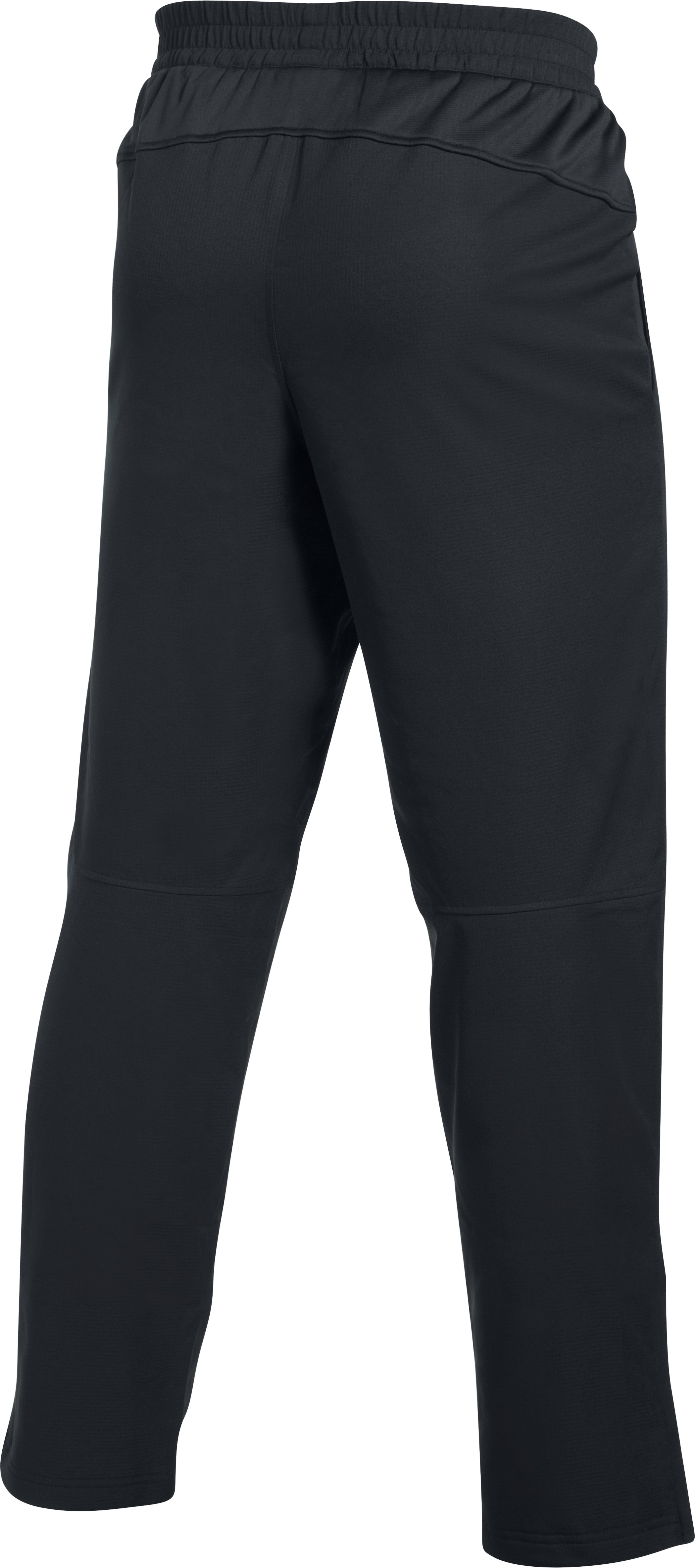 Men's UA Insulated Warm-Up Pants, Black , undefined