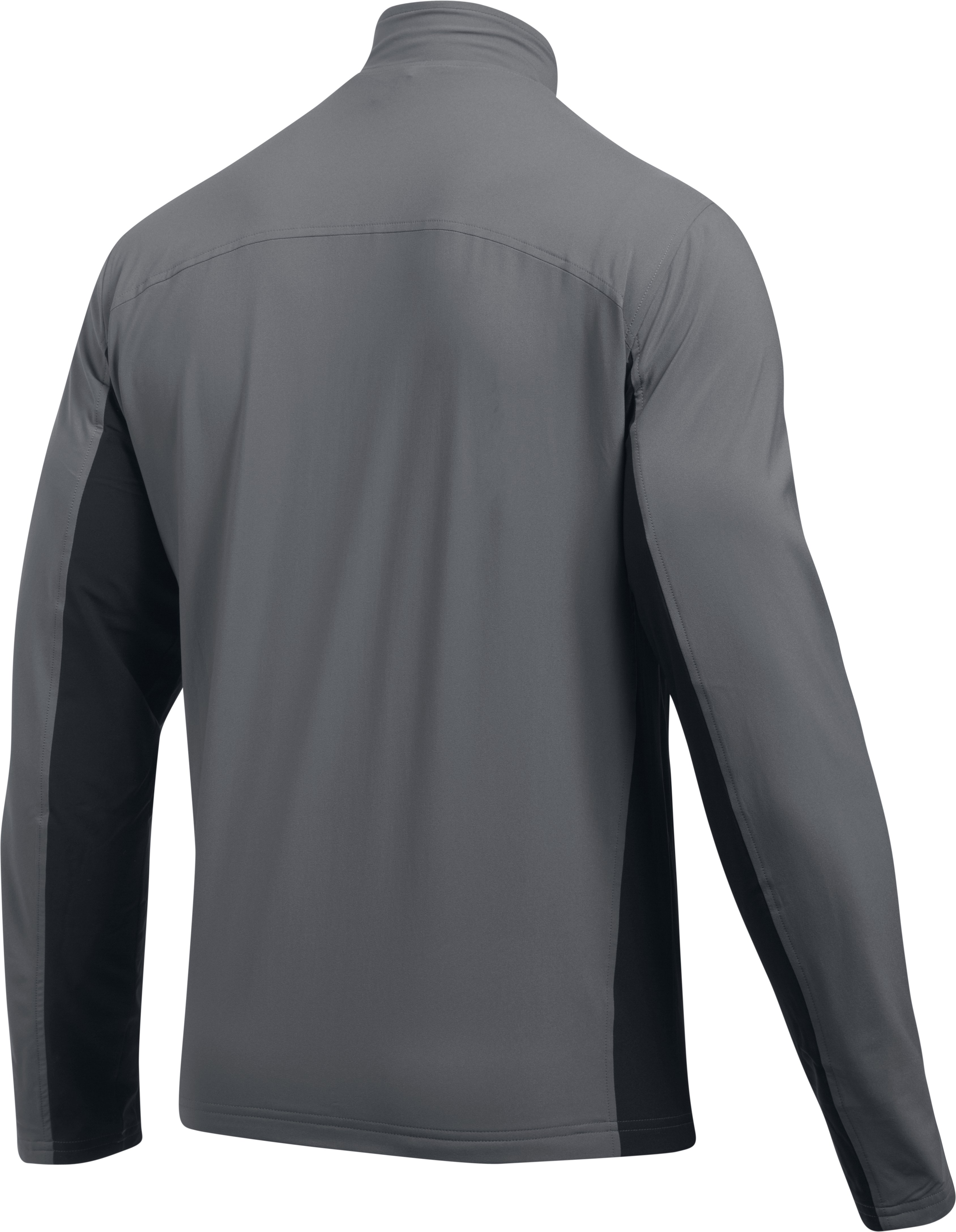 Men's UA Lined Warm-Up Jacket, Graphite,