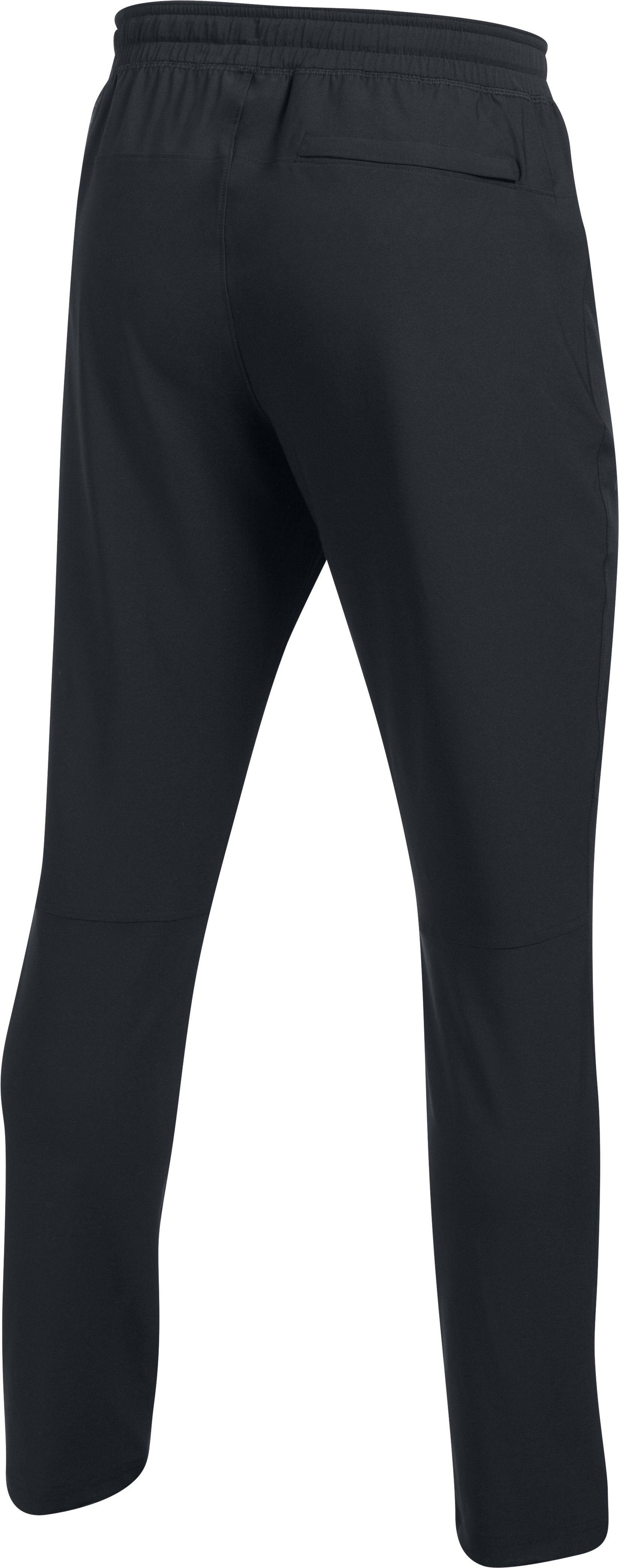 Men's UA WG Woven Pants, Black , undefined