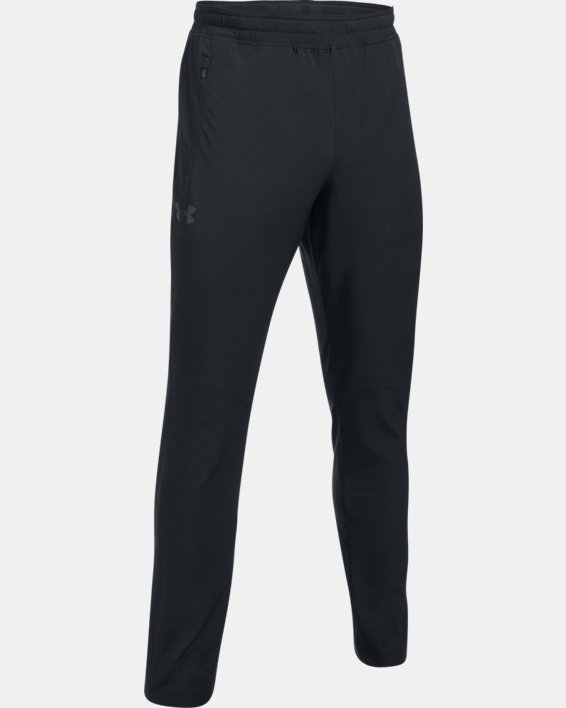 Men's UA WG Woven Pants, Black, pdpMainDesktop image number 5